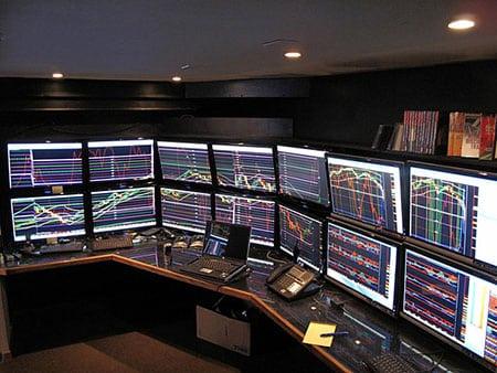 Трейдер фондового рынка